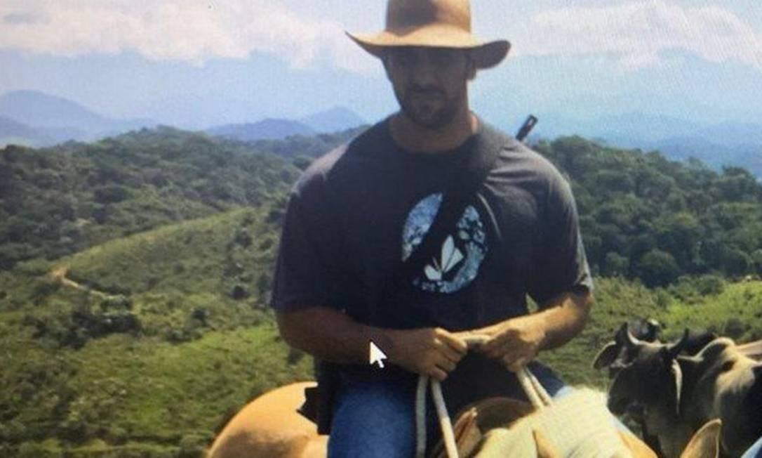 Adriano da Nóbrega, morto pelo Bope da Bahia Foto: Reprodução