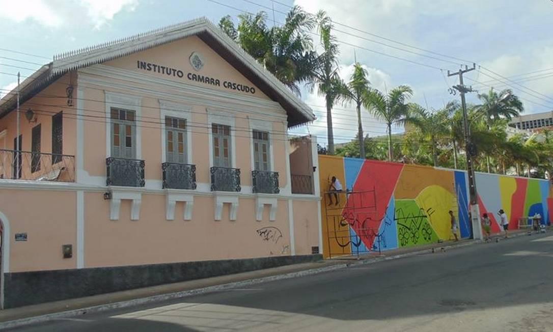 Ludovicus- InstitutoCâmaraCascudo, em Natal, no Rio Grande do Norte Foto: Reprodução/Facebook