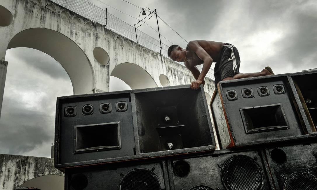Paredão do Rio Parada Funk, na Lapa Foto: Divulgação/Vincent Rosenblatt / © Vincent Rosenblatt / Agencia