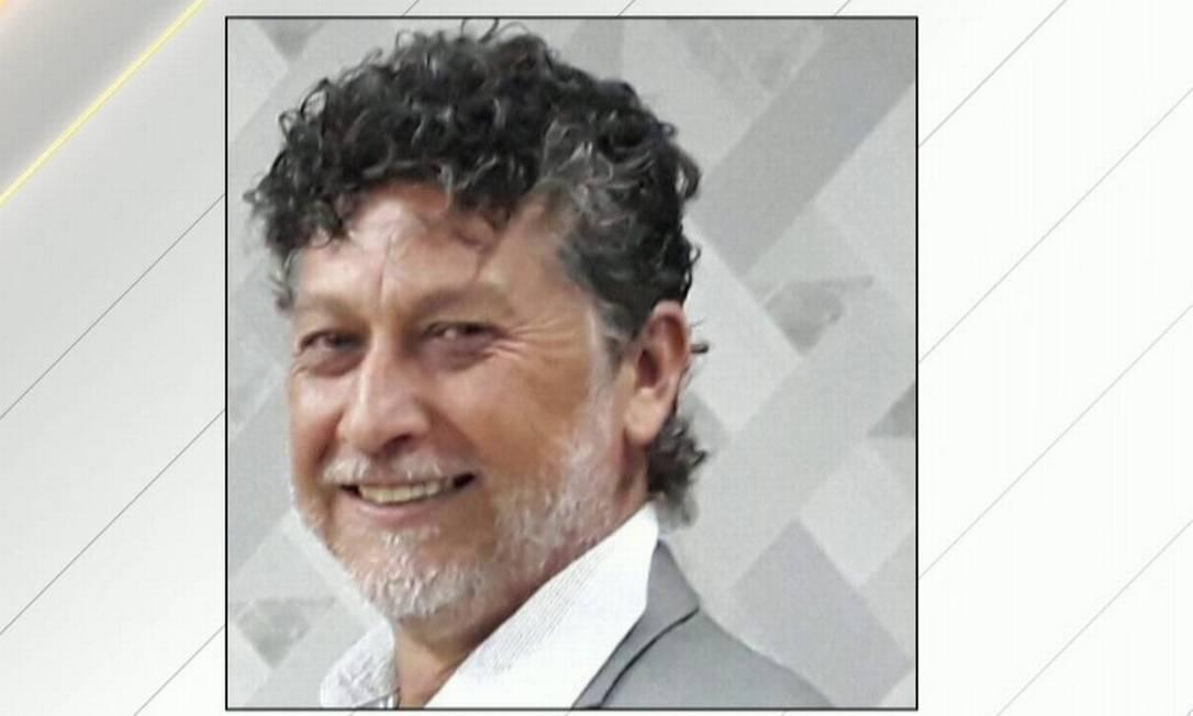 O jornalista Léo Veras, assassinado na fronteira do MS com o Paraguai Foto: Reprodução