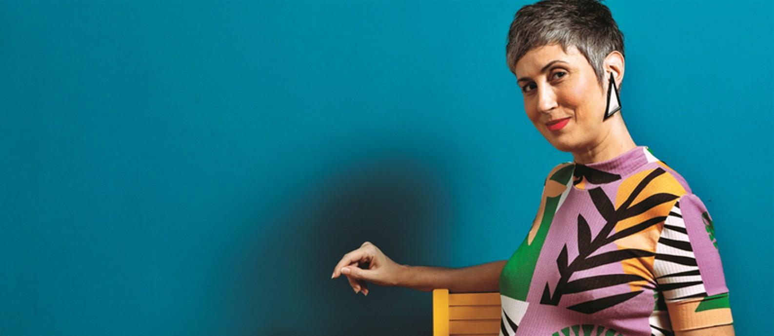 A consultura de estilo Ana Soares grávida aos 40 Foto: Foto: Ana Branco/ Agência O Globo