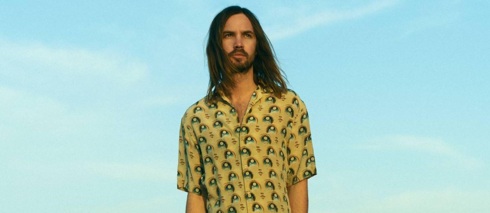 O cantor, compositor, instrumentista e produtor Kevin Parker, líder do Tame Impala Foto: Neil Krug / Divulgação
