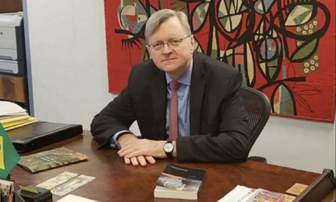 O diplomata Nestor Forster, indicado pelo presidente Bolsonaro para chefiar a embaixada do Brasil nos EUA Foto: Agência O Globo