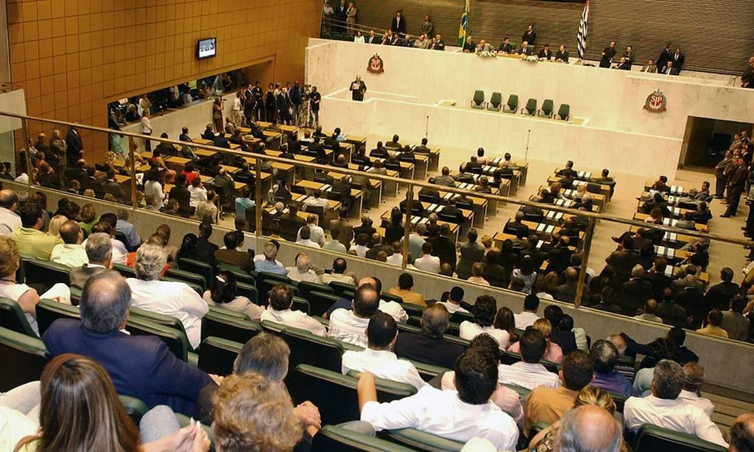 Plenário da Alessembleia Legislativa do Estado de São Paulo Foto: Divulgação/Alesp
