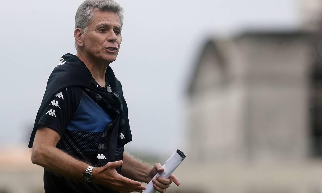 Paulo Autuori, técnico do Botafogo Foto: Vitor_Silva / Vitor Silva/Botafogo