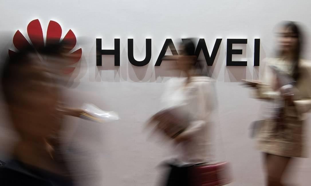 Huawei: novas acusações nos EUA. Foto: FRED DUFOUR / AFP