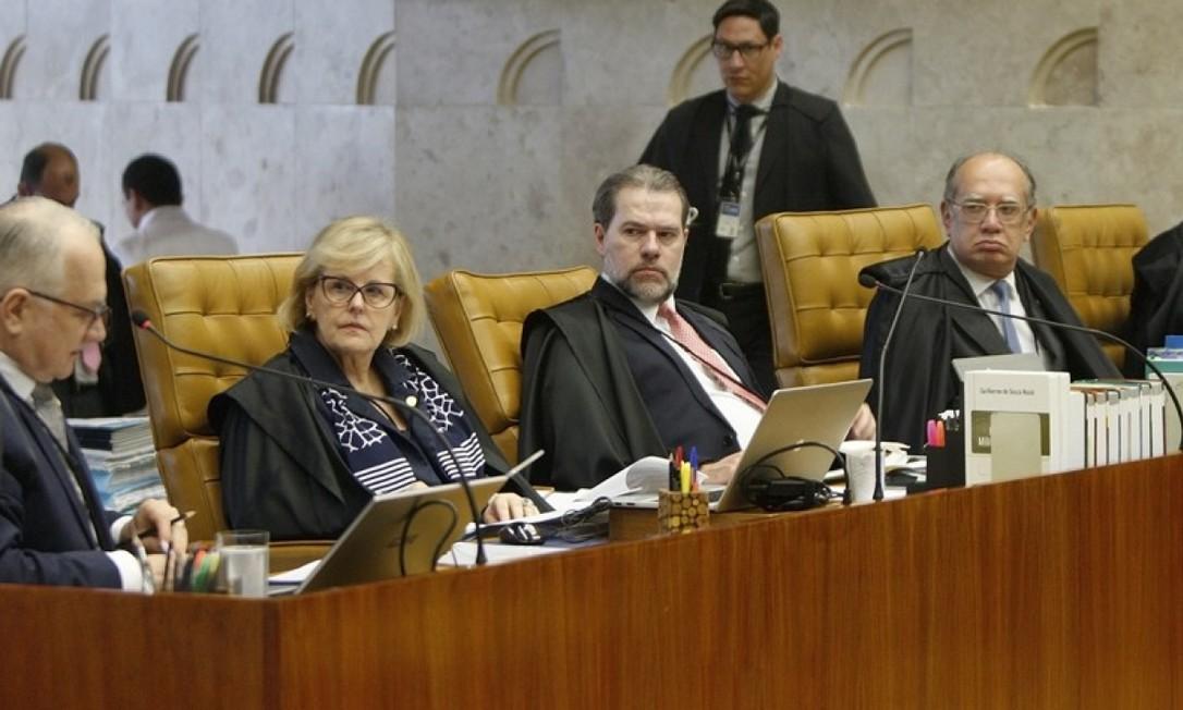 Ministros do STF Foto: Divulgação