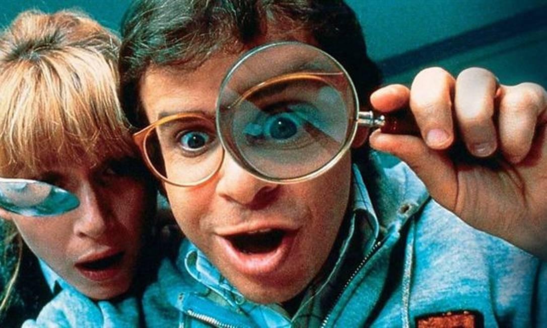Rick Moranis em 'Querida, encolhi as crianças', de 1989 Foto: Divulgação