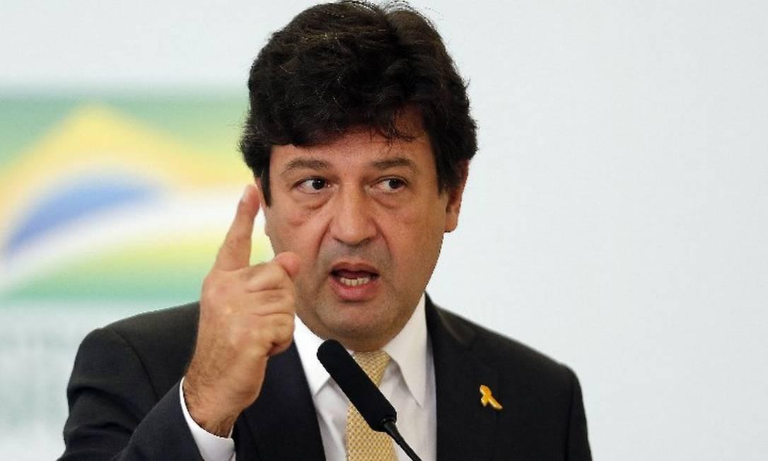 """Ministro da Saúde, Luiz Henrique Mandetta: """"Eu alertei: 'Rio de Janeiro, olhe seus números de vacinação, vacine'"""" Foto: Jorge William"""