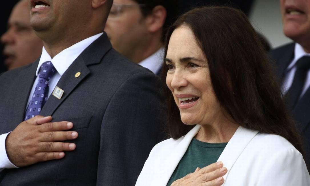 Regina Duarte aceitou convite de Bolsonaro para Secretária Especial de Cultura Foto: BW Press / Paulo Lopes / BW Press / Agênci