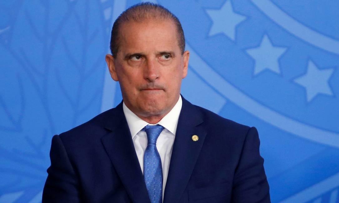 O ministro da Cidadania, Onyx Lorenzoni Foto: Adriano Machado / Reuters