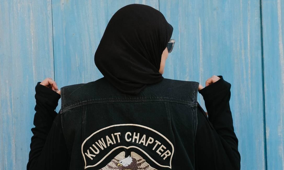 Iman al-Gharabally, uma das participantes do Revezamento Foto: ANNA NIELSEN / NYT