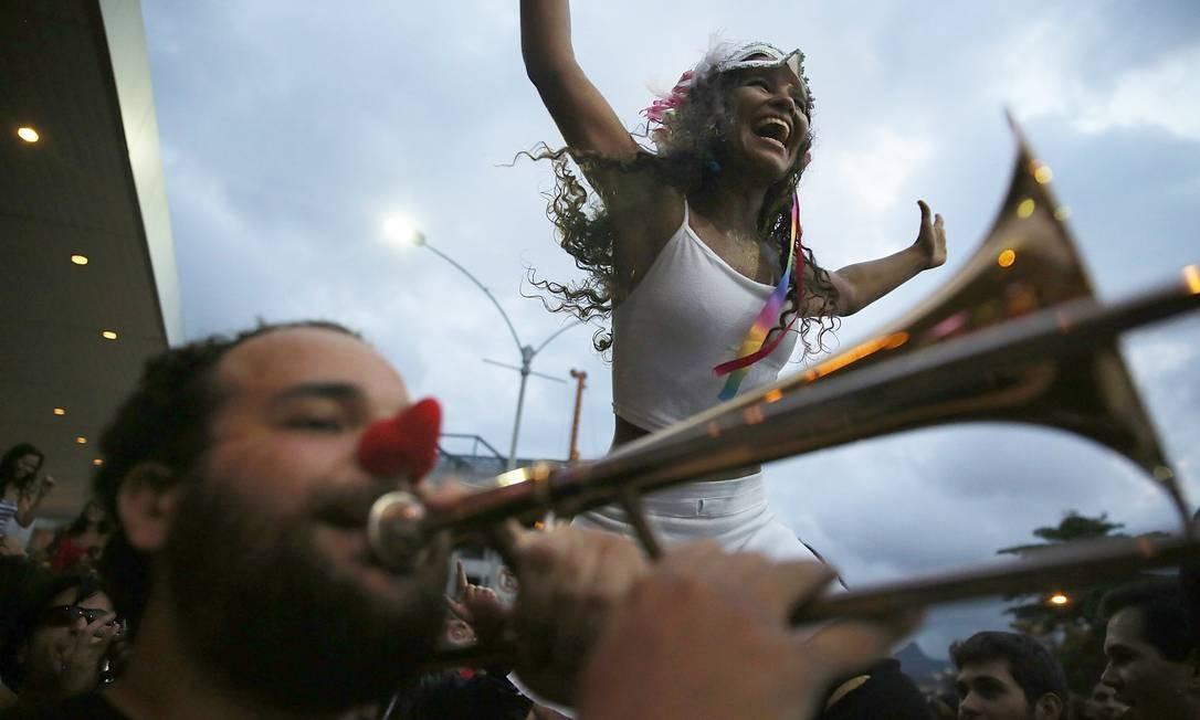 Bloco Cordão do Boi Tolo, no Rio de Janeiro Foto: Mario Tama / Getty Images