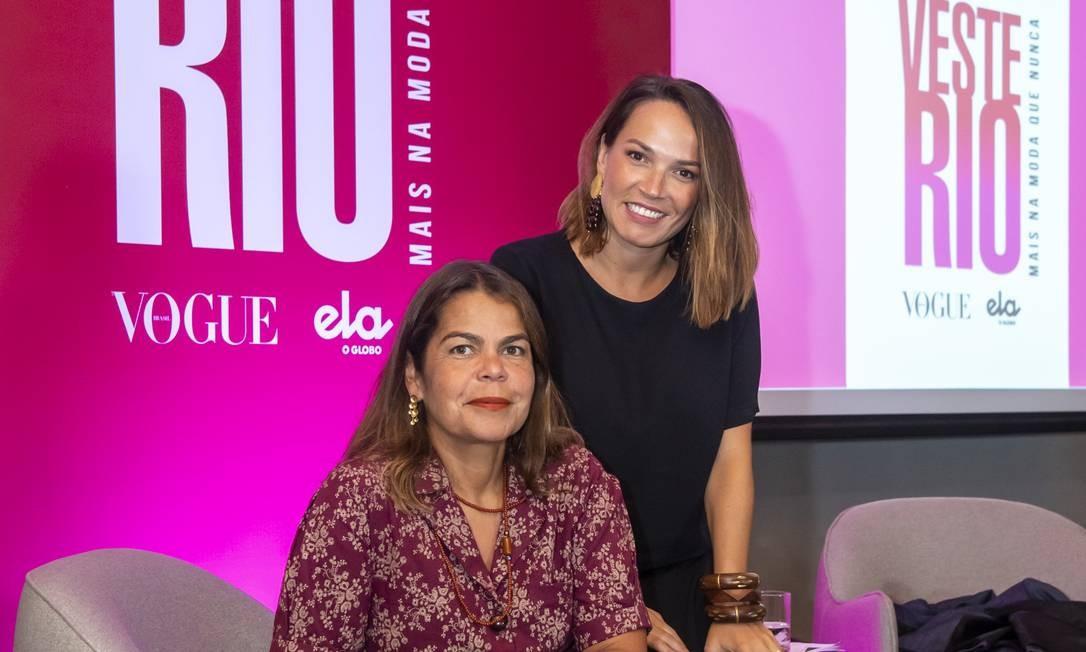 Daniela Falcão e Marina Caruso Foto: Fábio Cordeiro