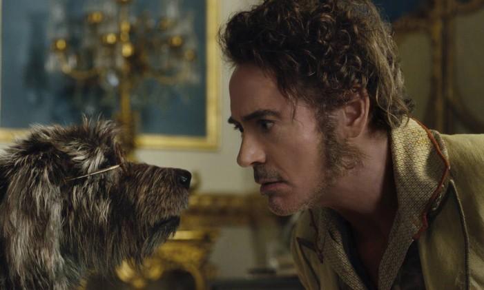 Personagem de Robert Downey Jr. fala com animais no filmen. Foto: Photo Credit: Universal Pictures / Divulgação/Universal Pictures
