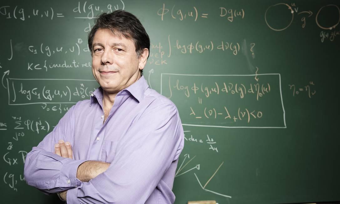 O diretor do Impa, Marcelo Viana, critica preconceito contra pesquisadores que se aproximam do mercado Foto: Daryan Dornelles / Divulgação