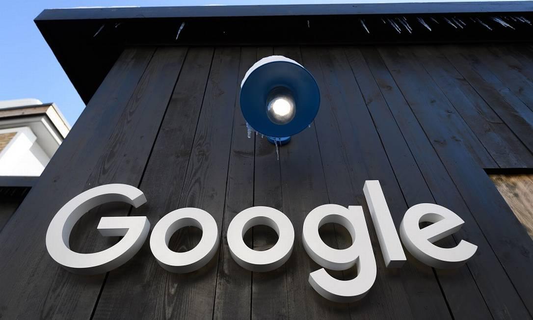 Google: conversas noticiosas. Foto: FABRICE COFFRINI / AFP