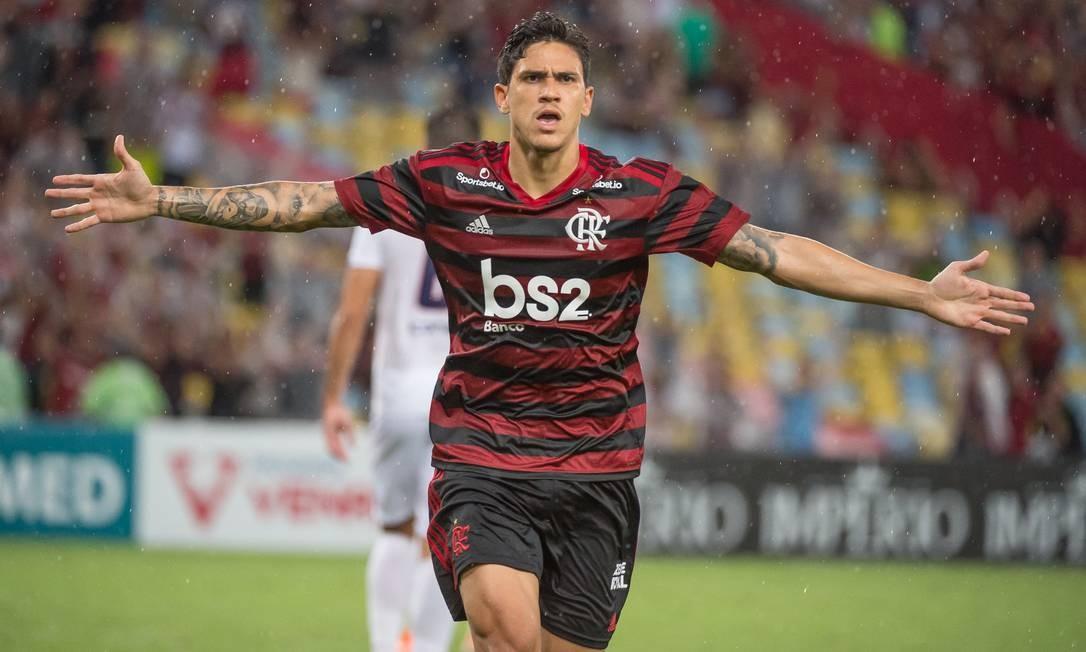 Hoje no Fla, Pedro cobra o ex-clube Fluminense Foto: Alexandre Vidal / Flamengo