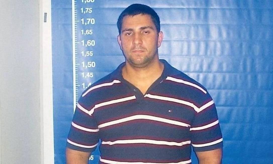 O miliciano Adriano da Nobrega Foto: Reprodução