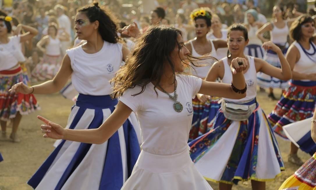 O carnaval tem blocos para todos os tipos de folião Foto: Leo Martins / Agência O Globo