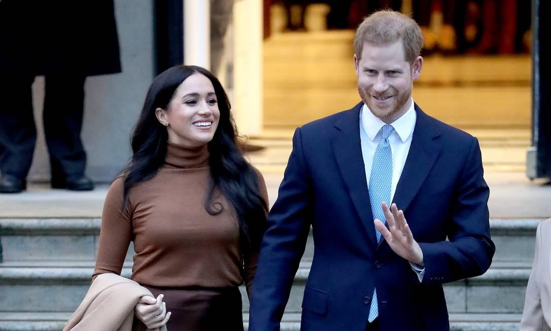 Harry e Meghan Foto: Chris Jackson / Getty Images