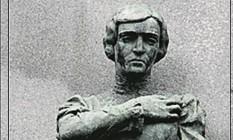 Detalhe da estátua roubada Foto: Alexandre Cassiano / 30-11-207