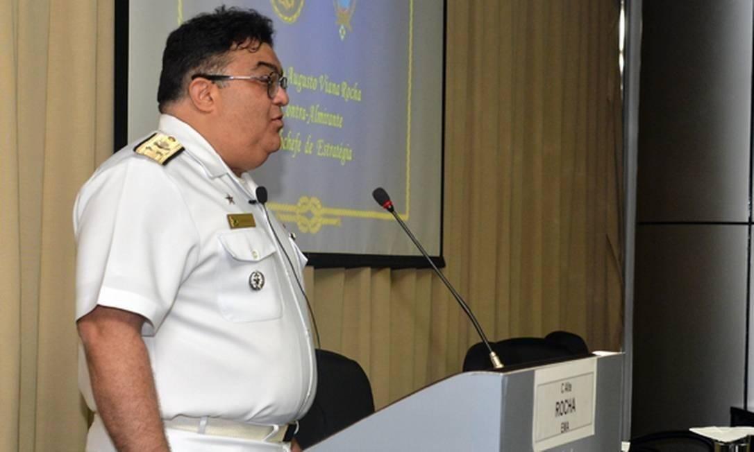 O vice-almirante da Marinha Flávio Augusto Viana Rocha Foto: Tereza Sobreira/Ministério da Defesa