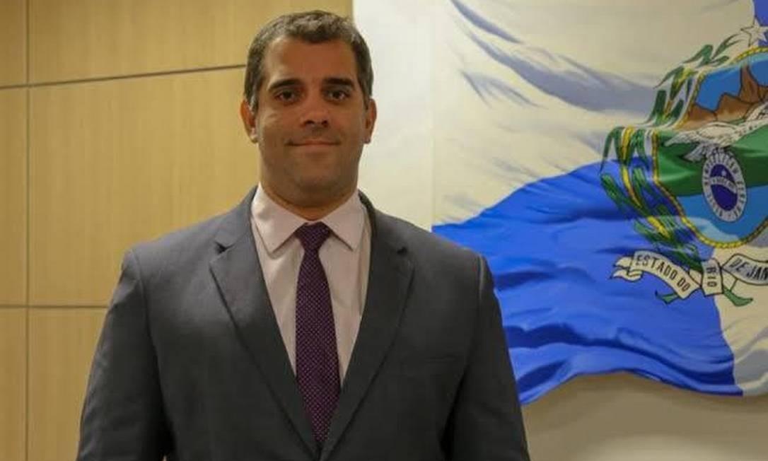 O secretário Lucas Tristão: convocação pela Alerj para explicar suposta confecção de dossiês Foto: Divulgação / Governo do estado