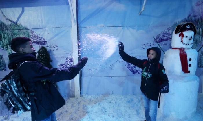 Alaska Neve, no Via Parque Foto: Guilherme Pinto / Agência O Globo