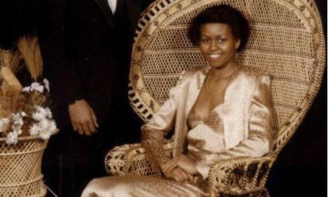 Michelle Obama no dia de sua formatura Foto: Instagram