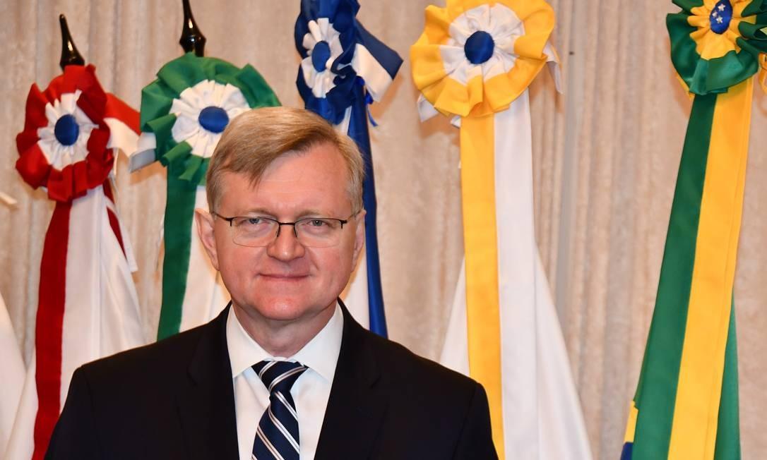 Nestor Forster: novo embaixador brasileiro em Washington Foto: Divulgação