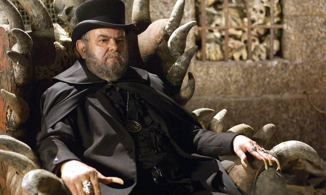 O cineasta José Mojica Marins, criador do personagem Zé do Caixão, que interpretou em dezenas de filmes, morreu nesta quarta-feira, aos 83 anos. Foto:  / Divulgação