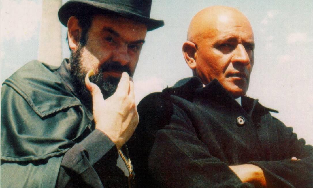 """Zé do Caixão em cena do filme """"Tortura Selvagem"""" (2001) Foto: Divulgação"""