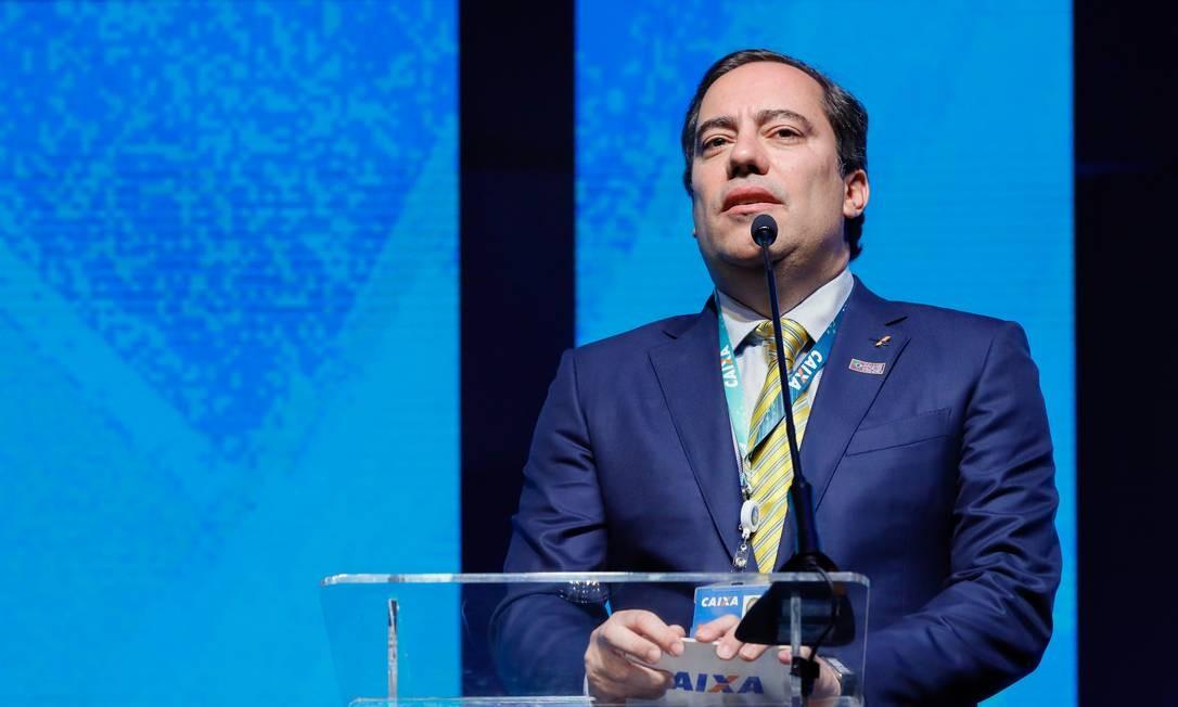O presidente da Caixa, Pedro Guimarães: banco vai abrir 30 milhões de contas digitais para informais Foto: Isac Nobrega / Presidência