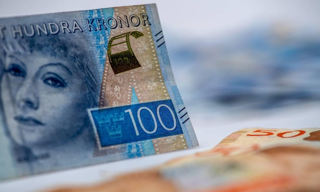 Banco central da Suécia testa versão digital da coroa sueca Foto: Chris J. Ratcliffe / Bloomberg