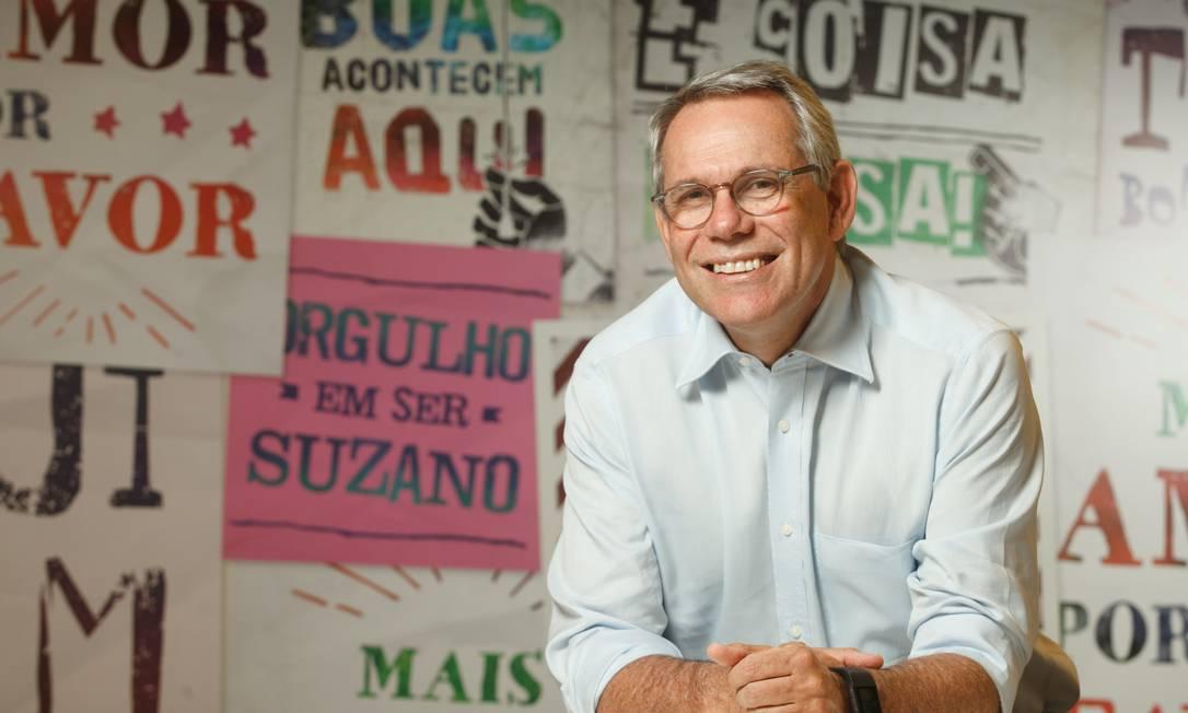 Walter Schalka, presidente da Suzano. Foto: Sergio Zacchi / Sergio Zacchi/Divulgação