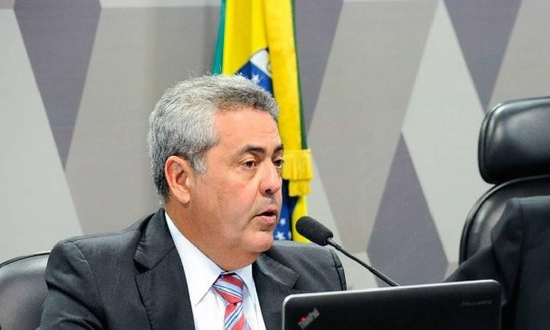 O subprocurador-geral da República Nívio de Freitas Silva Filho Foto: Geraldo Magela/Agência Senado