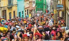 O Prata Preta homenageia o capoeirista Horário José da Silva, herói da Revolta da Vacina. Já o Caetano Virado celebra o cantor Foto: Amanda Santos / Arquivo