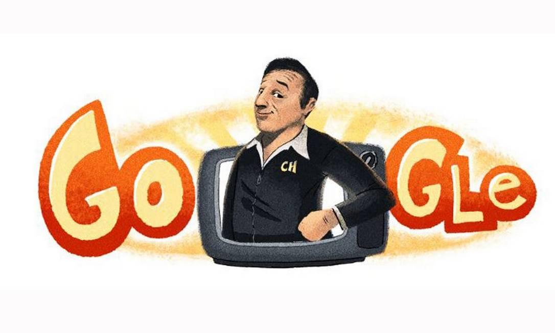 Google faz homegamem a Roberto Gómez Bolaños Foto: Reprodução