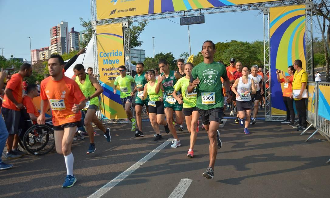 Circuito Sesc de Corridas terá mais de 120 etapas em todo o Brasil Foto: Estevão Salomão / Divulgação Sesc