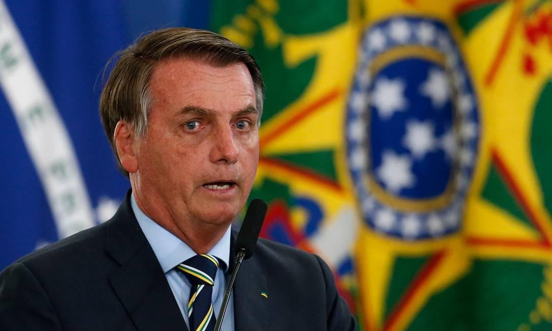 Planalto vetou 'biroliro' e 'bonossauro' nas redes Foto: Pablo Jacob / Agência O Globo