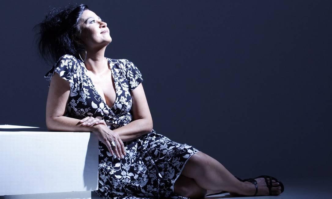 A cantora Claudia Telles Foto: Divulgação