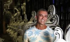 Paulo Barros, carnavalesco da Unidos da Tijuca e da Gaviões da Fiel em 2020 Foto: Fábio Rossi / Agência O Globo