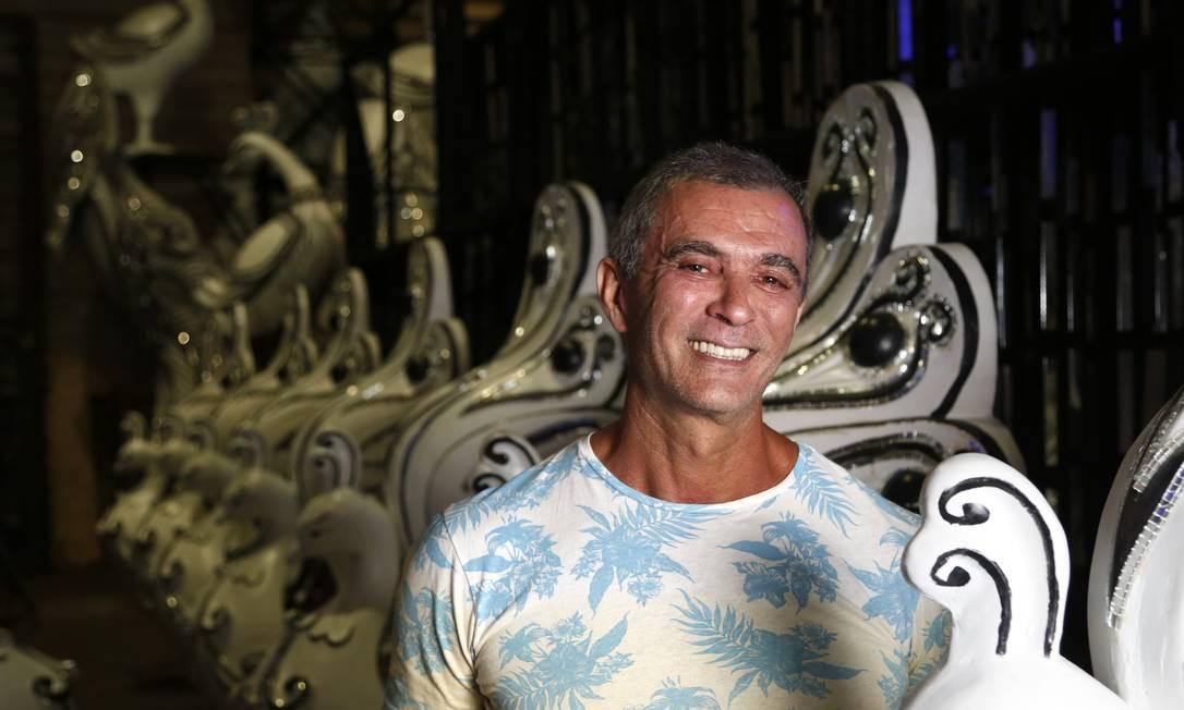 Paulo Barros foi carnavalesco da Unidos da Tijuca em 2020 Foto: Fábio Rossi / Agência O Globo