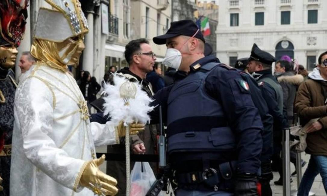 A Itália é o lugar com mais casos de coronavírus na Europa Foto: Reuters