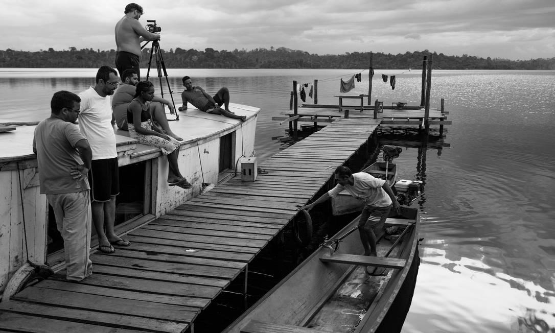 """Cena do documentário """"O reflexo do lago"""" Foto: Divulgação"""