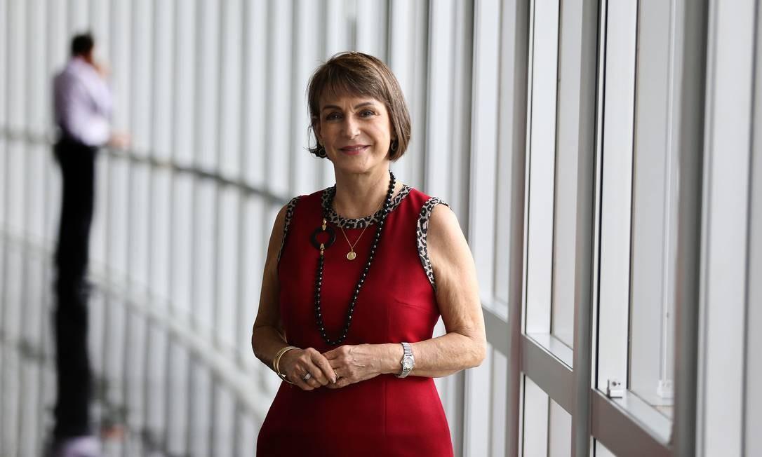 A presidente do TST, Maria Cristina Peduzzi Foto: Jorge William/Agência O Globo