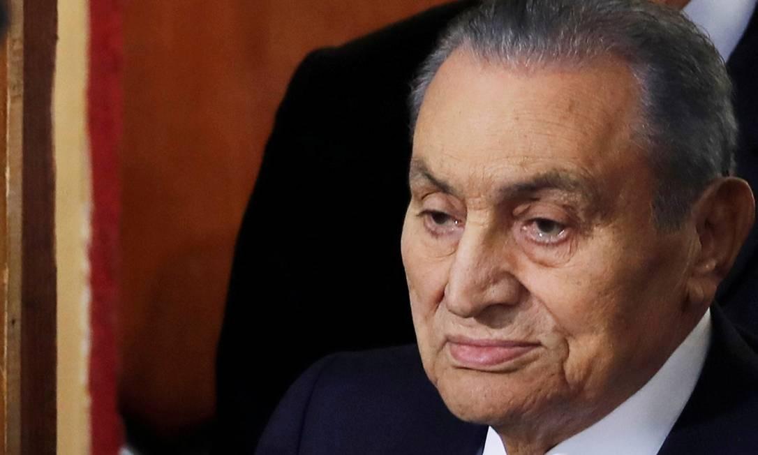 Ex-presidente e ditador egípcio Hosni Mubarak Foto: Amr Abdallah Dalsh / REUTERS