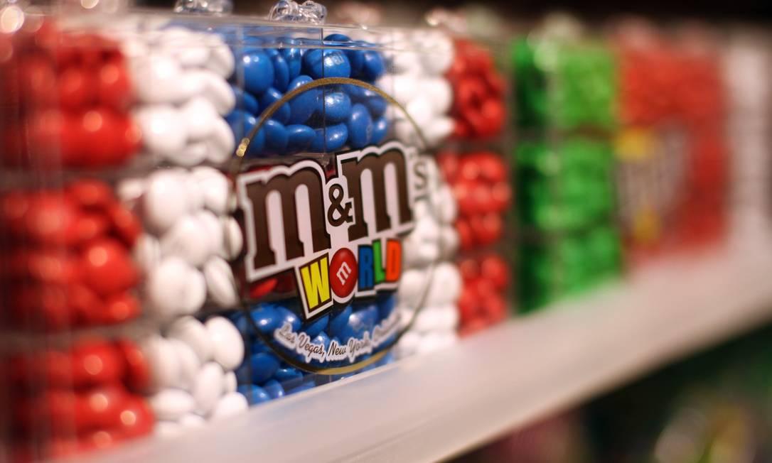 M&M's: origem militar. Foto: Chris Ratcliffe / Bloomberg