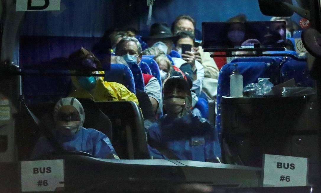 Número de casos nos Estados Unidos sobe para 53, sendo 36 passageiros do avio Diamond Princess Foto: Athit Perawongmetha / REUTERS